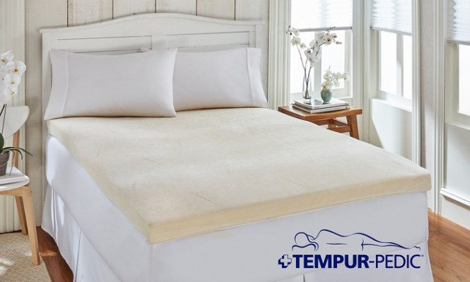 Closeout Tempur Pedic Memory Foam Mattress Topper