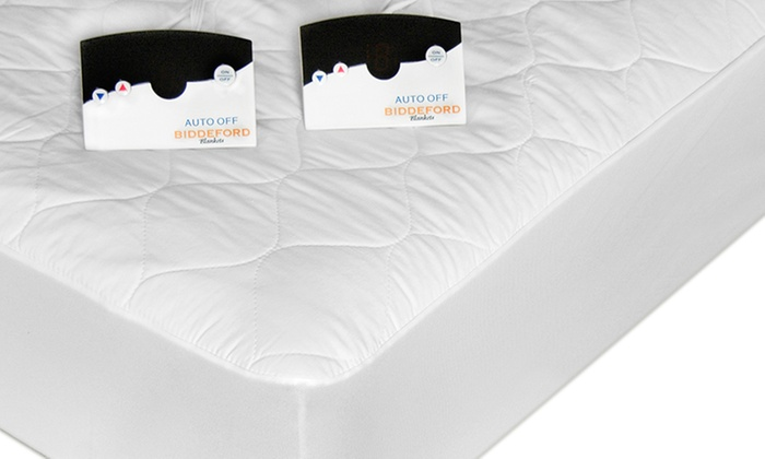 Heated Quilted Mattress Pad  Groupon Goods