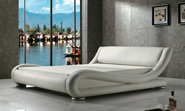 Letto matrimoniale di design  Groupon Goods