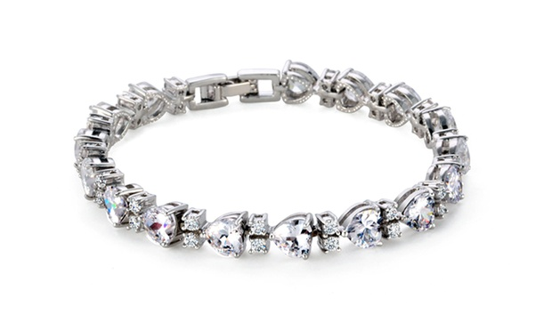 Up to 68% Off Tennis Bracelet made with SWAROVSKI ELEMENTS