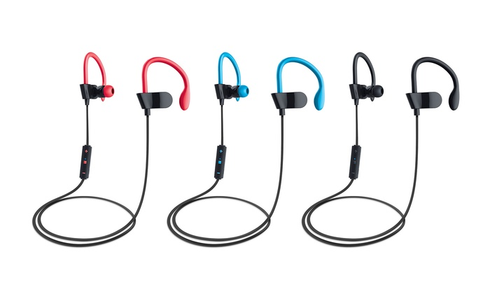 Avier XE4 Wireless Bluetooth Earbuds with Sport Hooks