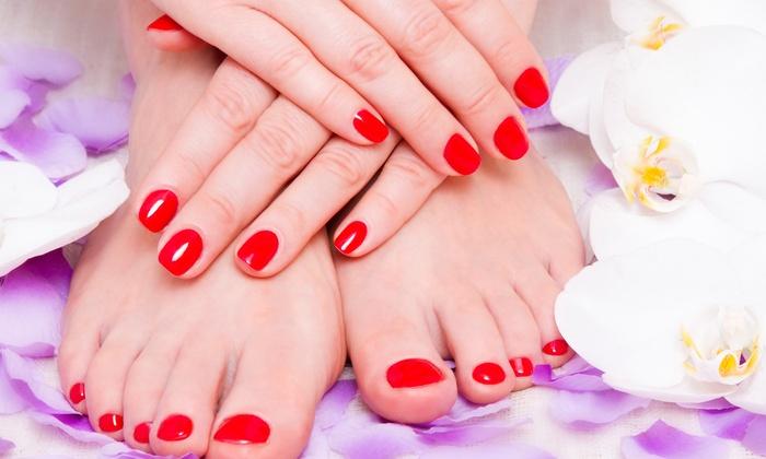 ManiPedi  Look Nail Salon  Spa  Groupon