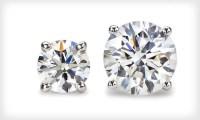Diamond Stud Earrings | Groupon Goods