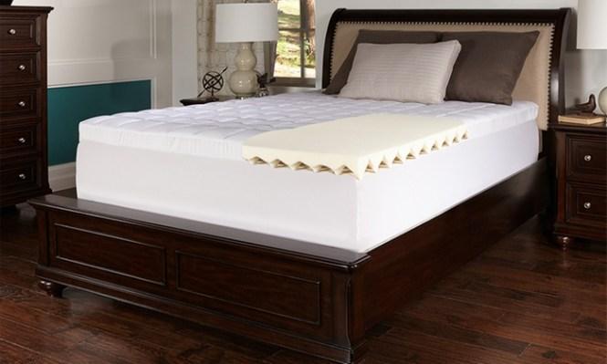 Lux Comfort 3 5 Super Soft Memory Foam Mattress Topper
