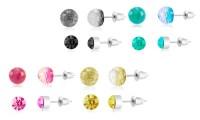 Cubic-Zirconia Earrings   Groupon Goods