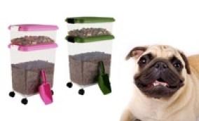 IRIS Pet Food Storage Container Set (3-Piece)