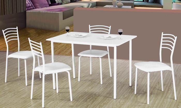 Set tavolo e 4 sedie  Groupon Goods