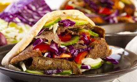 Menu kebab alla carta con antipasto, dolce e birra per 2 o 4 persone con LAgorà (sconto fino a 63%)