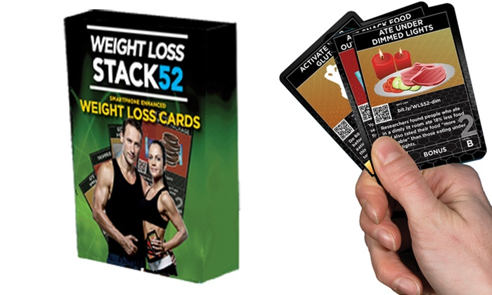 Stack 52 Weight-Loss Card Game   Groupon Goods