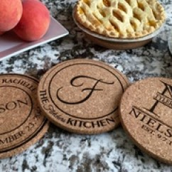 Kitchen Hot Pads Dishes Up To 72 Off On Personalized Groupon Goods One Two Four Or Six From American Laser Crafts