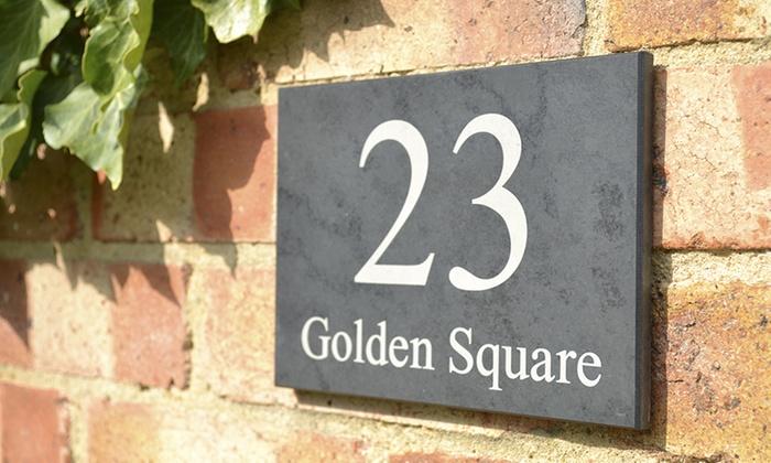 Design A House Sign 44 Off Groupon