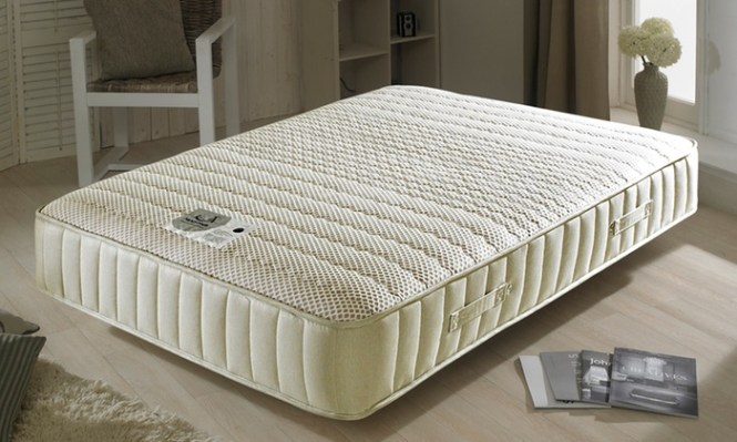 Click To Tick Ltd Imperial 3500 Memory Foam And Pocket Sprung Mattress With Free