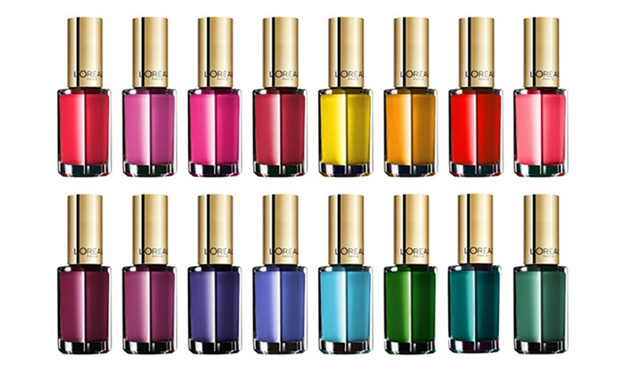 15 Pack Of L Oreal Colour Riche Nail Polishes