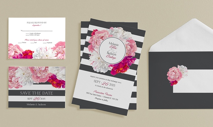 custom wedding stationery from