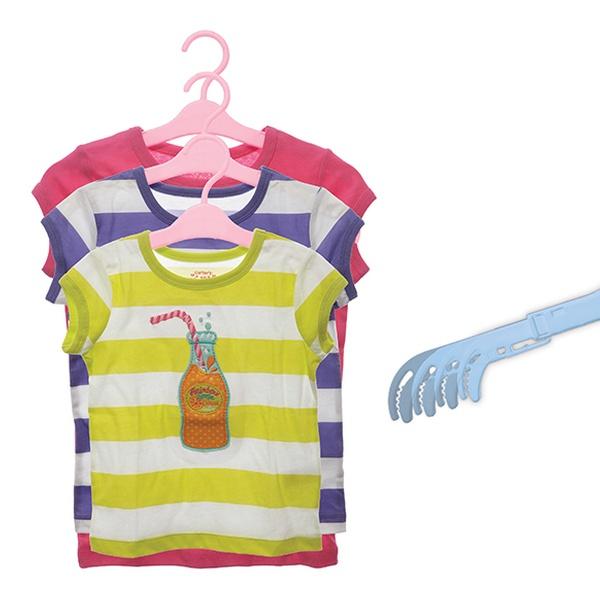 24 Pack Of Dreambaby Extendable Grohangers Children S Hangers