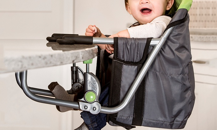 regalo portable high chair folding electric easy diner hook on highchair groupon