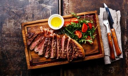 Menu con maxi tagliere, 1 kg di carne alla griglia, dolce e uno litro di vino al Ritrovo del Gusto (sconto fino a 53%)