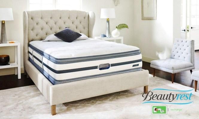 Simmons Beautyrest Recharge Pillow Top Mattress Set St Chapelle