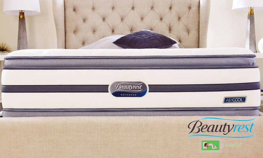 simmons beautyrest recharge sunset oaks plush pillowtop mattress set free white glove delivery 10 year warranty