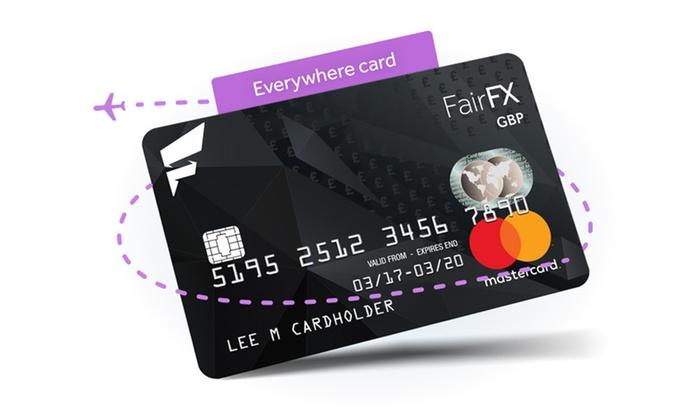 Prepaid Travel Money Mastercard