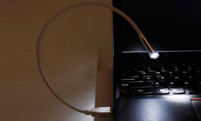 Laava USB Computer Light 2pk  Groupon Goods