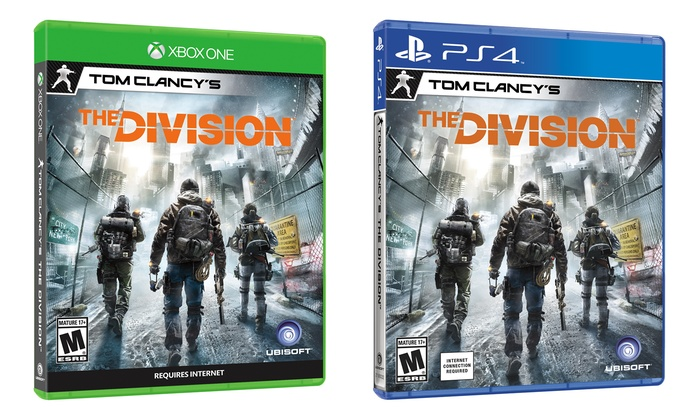 Tom Clancys The Division for PS4 or Xbox One  Groupon