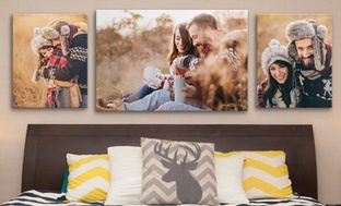 "Up to 89% Off 5""x7"", 16""x20"", or 24""x36"" Custom Canvas Wraps"