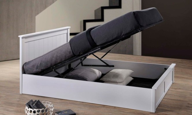 Groupon Goods Global Gmbh Como Wooden Ottoman Storage Bed From 244 99 Plus