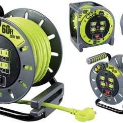 Extension Cord Reel Lifan 110 Wiring Diagram Masterplug Reels And Accessories Groupon