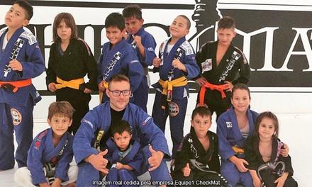 Equipe1 CheckMat – Água Verde: 1, 3 ou 6 meses de MMA, muay thai, jiu jítsu ou wrestling