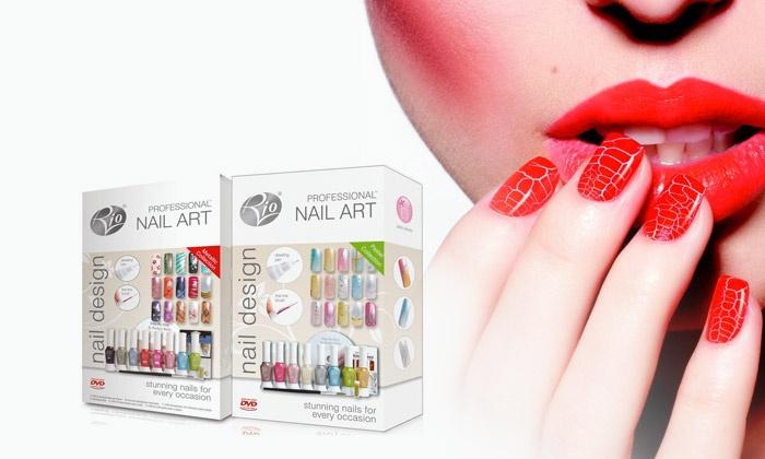 Groupon Goods Global Gmbh Kits Vernis Et Nail Art Rio 8 Styles Au Choix