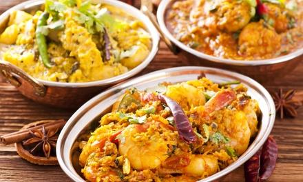 Menu indiano di mare a base di gamberi e gamberoni con dolce e vino al ristorante Zavi di Trento (sconto fino a 65%)