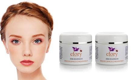 Kit 2 Crema viso bava di lumaca con preventhelia e acido ialuronico 50 ml