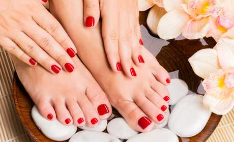 Image Placeholder For One Or Two Spa Pedicures Mani Pedi At Gente Laser