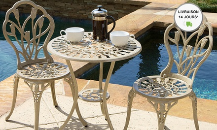 cast aluminum bistro set from 199 delivery included up to 30 off
