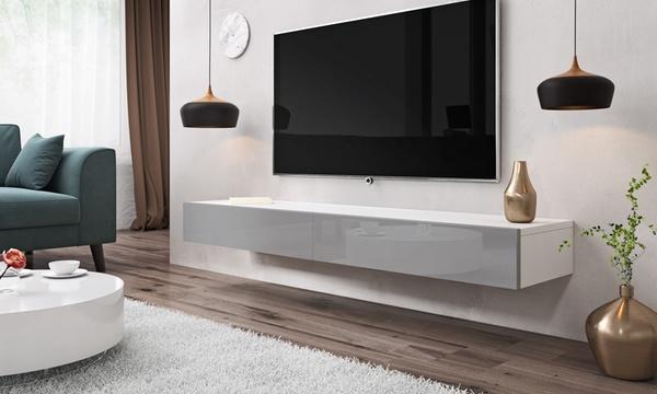 meuble tv suspendu sierra