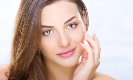 Trattamento rigenerante per viso o capelli con gel piastrinico PRP