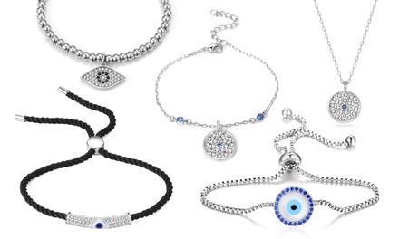 Bracciali e collane Philip Jones con madreperla e cristalli di Swarovski® disponibili in vari modelli