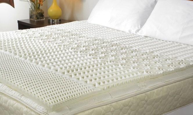 5 Zone Therapeutic Memory Foam Mattress Topper