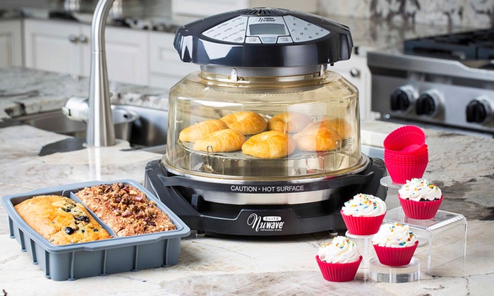 Infrared Convection Countertop Oven Nuwave Elite Infrared Oven | Groupon