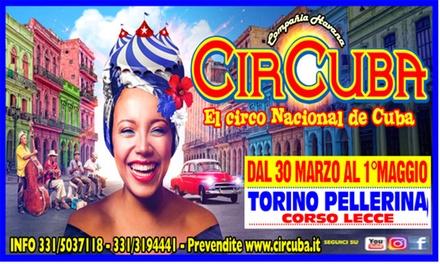 CirCuba a Torino: nuova tappa de El Circo Nacional de Cuba dal 30 marzo al 1° maggio (sconto fino a 50%)