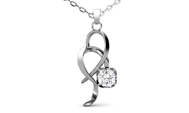Up to 83% Off Pendant Necklace made with SWAROVSKI