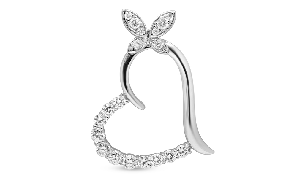 Up to 92% Off 18K White Gold-Plated Simulated Diamond