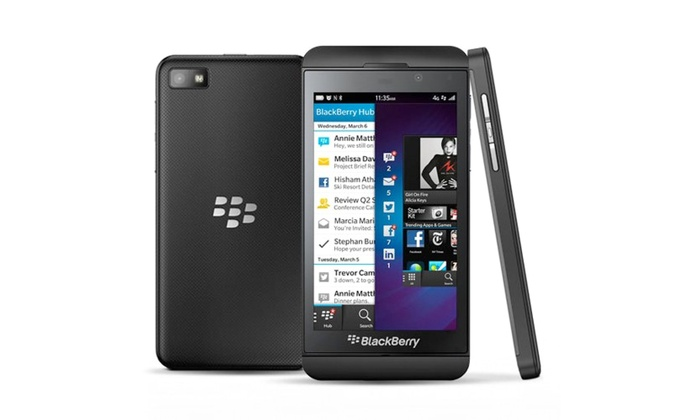 BlackBerry Z10 with 4G LTE | Groupon Goods