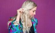 splash hair design with andrea