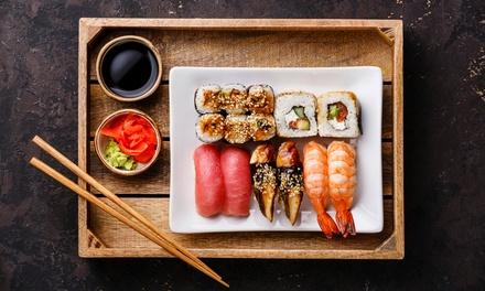 62 pezzi di sushi take away al ristorante Kumo Sushi in zona Crocetta (sconto 67%)