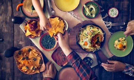 Menu messicano con chili o paella, dolce e sangria per 2 o 4 persone allAgave Ristorante in centro (sconto fino a 44%)