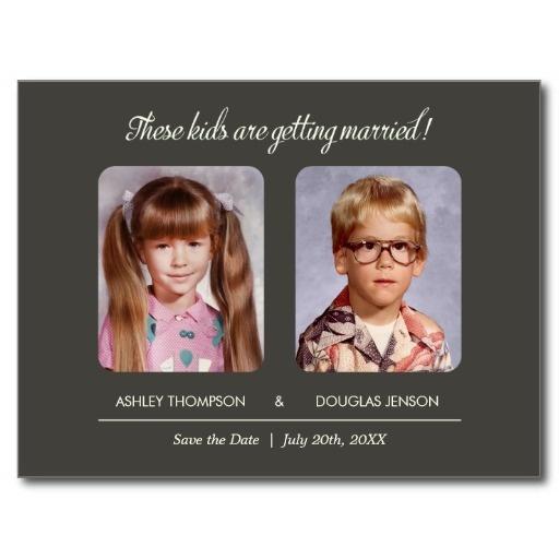 Postcards Save Date Cute