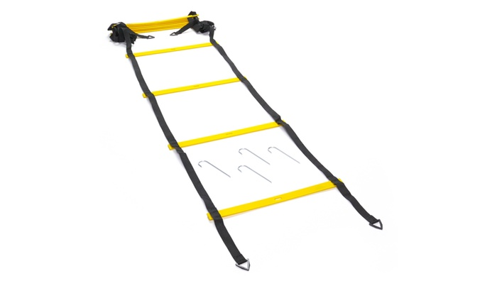 Black Mountain Products Foldable Agility Ladder with Carry