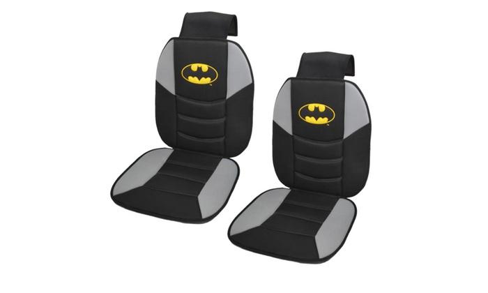 batman car chair plastic swivel dc comics superhero padded front seat cushion cover